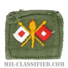 通信科章(Signal Corps)[カラー/兵科章/パッチ/中古1点物]の画像
