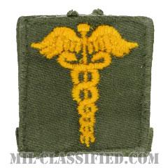 衛生科章(Medical Corps)[カラー/兵科章/パッチ/中古1点物]の画像