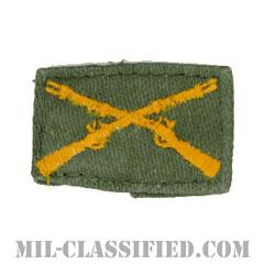 歩兵科章(Infantry Branch Insignia)[カラー/兵科章/パッチ/中古1点物]の画像