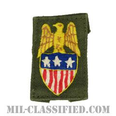 中将補佐官(Aide to the Lieutenant General)[カラー/兵科章/手刺繍/パッチ/中古1点物]の画像