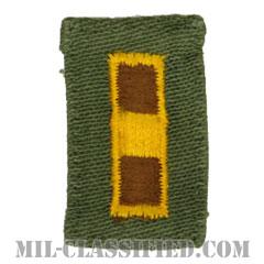 准尉(Warrant Officer 1 (WO1))[カラー/階級章(1956-1972)/パッチ/中古1点物]の画像