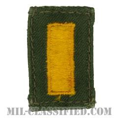 少尉(Second Lieutenant (2LT))[カラー/階級章/パッチ/中古1点物]の画像