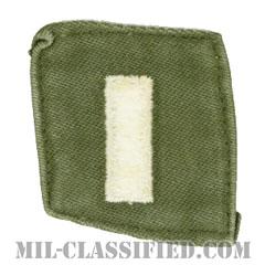 中尉(First Lieutenant (1LT))[カラー/階級章/パッチ/中古1点物]の画像