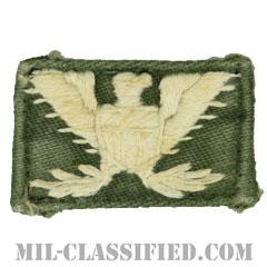大佐(Colonel (COL))[カラー/階級章/襟用右向き/手刺繍/パッチ/中古1点物]の画像
