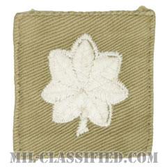 中佐(Lieutenant Colonel (LTC))[カラー/階級章/パッチ/中古1点物]の画像