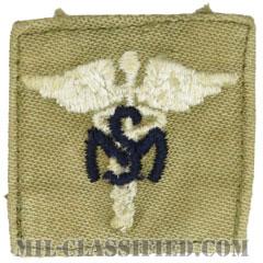 衛生業務科章(Medical Service Corps)[カラー/兵科章/パッチ/中古1点物]の画像
