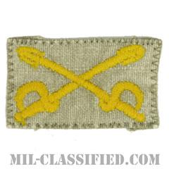 騎兵科章(Cavalry Branch Insignia)[カラー/兵科章/パッチ/中古1点物]の画像