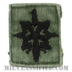 情報科章(Military Intelligence Corps)[サブデュード/兵科章/1960s/コットン100%/パッチ/中古1点物]の画像