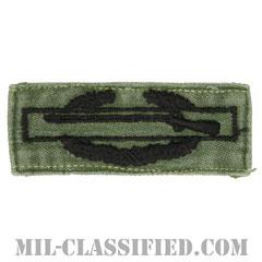 戦闘歩兵章 (ファースト)(Combat Infantryman Badge (CIB), First Award)[サブデュード/1960s/コットン100%/パッチ/中古1点物]の画像