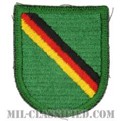 第10特殊部隊群(1st Battalion, 10th Special Forces Group)[カラー/カットエッジエッジ/ベレーフラッシュパッチ/1点物]の画像