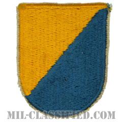 第8特殊部隊群(8th Special Forces Group)[カラー/カットエッジエッジ/ベレーフラッシュパッチ/1点物]の画像