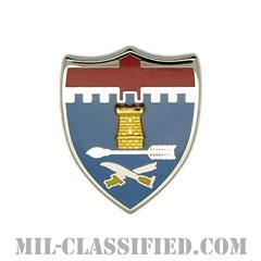 第11歩兵連隊(11th Infantry Regiment)[カラー/クレスト(Crest・DUI・DI)バッジ]の画像