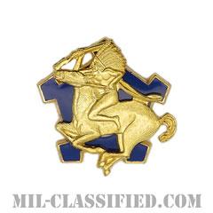 第9騎兵連隊(9th Cavalry Regiment)[カラー/クレスト(Crest・DUI・DI)バッジ]の画像