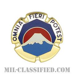 在日アメリカ陸軍(U.S. Army Japan Command)[カラー/クレスト(Crest・DUI・DI)バッジ]の画像