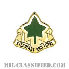 第4歩兵師団(4th Infantry Division)[カラー/クレスト(Crest・DUI・DI)バッジ]の画像