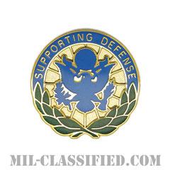 国防総省人事(Personnel In DOD and Joint Activities)[カラー/クレスト(Crest・DUI・DI)バッジ]の画像