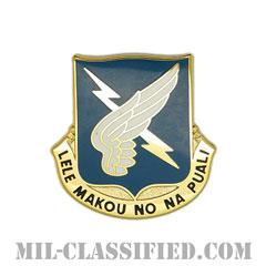 第25航空大隊(25th Aviation Battalion)[カラー/クレスト(Crest・DUI・DI)バッジ]の画像