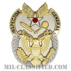 監察官章(Inspector General Badge)[カラー/鏡面仕上げ/バッジ]の画像