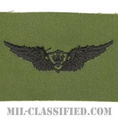 航空機搭乗員章 (ベーシック・エアクルー)(Army Aviation Badge (Aircrew), Basic)[サブデュード/パッチ]の画像