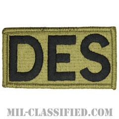 DES(評価標準化局)(Directorate of Evaluation & Standardization)[OCP/メロウエッジ/ベルクロ付パッチ]の画像