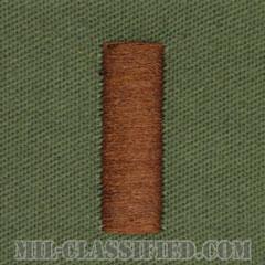 少尉(Ensign)[サブデュード/海軍階級章/生地テープパッチ/ペア(2枚1組)]の画像