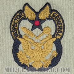 監察官章(Inspector General Badge)[ABU/パッチ]の画像