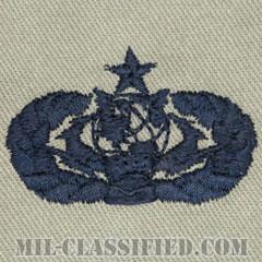 サイバースペース支援章 (シニア)(Cyberspace Support Badge, Senior)[ABU/パッチ]の画像