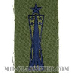 ミサイル整備章 (シニア)(Missile Maintenance Badge, Senior)[サブデュード/ブルー刺繍/パッチ]の画像