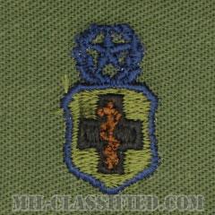 医療章 (下士官用マスター)(Enlisted Medical Badge, Master)[サブデュード/ブルー刺繍/パッチ]の画像