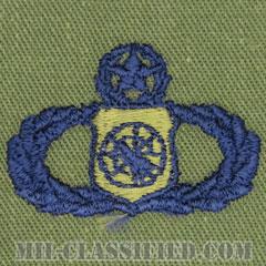 兵器指揮章 (マスター)(Weapons Director Badge, Master)[サブデュード/ブルー刺繍/パッチ]の画像