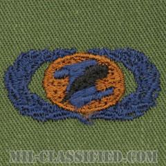 情報管理章 (ベーシック)(Information Management/Administration Badge, Basic)[サブデュード/ブルー刺繍/パッチ]の画像