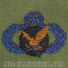 補給・燃料章 (マスター)(Supply and Fuels Badge, Master)[サブデュード/ブルー刺繍/パッチ]の画像