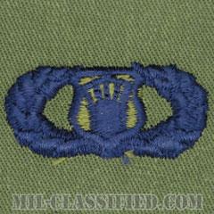 航空交通管制章 (ベーシック)(Air Traffic Control Badge, Basic)[サブデュード/ブルー刺繍/パッチ]の画像