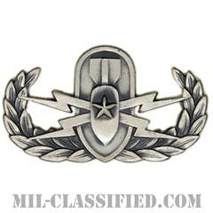 爆破物処理章 (シニア)(Explosive Ordnance Disposal (EOD), Badge, Senior)[カラー/燻し銀/バッジ]の画像