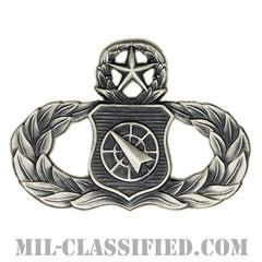 兵器指揮章 (マスター)(Weapons Director Badge, Master)[カラー/燻し銀/バッジ]の画像