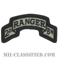 第75レンジャー連隊第2大隊(2nd Battalion, 75th Ranger Regiment)[UCP(ACU)/メロウエッジ/ベルクロ付パッチ]画像
