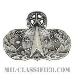 宇宙ミサイル章 (マスター)(Space and Missile Badge, Master)[カラー/燻し銀/バッジ]の画像