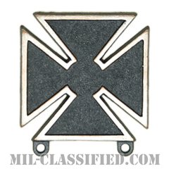 射撃技術章 (マークスマン)(Marksmanship Badge, Marksman)[カラー/燻し銀/バッジ]の画像