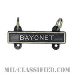 射撃技術章用バー (バヨネット)(Qualification Bar, BAYONET)[カラー/燻し銀]の画像