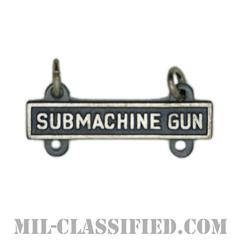 射撃技術章用バー (サブマシンガン)(Qualification Bar, SUBMACHINE GUN)[カラー/燻し銀]の画像