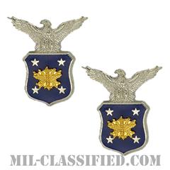 アメリカ合衆国空軍長官補佐官(Aide to the Secretary of the Air Force)[カラー/バッジ/ペア(2個1組)]の画像