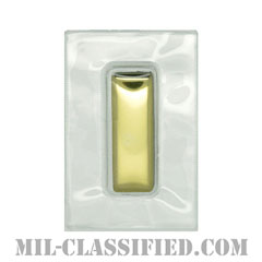 少尉(Second Lieutenant (2LT))[ビニールカバー(Plastic Encased)/空軍階級章/パッチ/ペア(2枚1組)]の画像