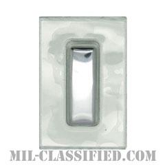 中尉(First Lieutenant (1LT))[ビニールカバー(Plastic Encased)/空軍階級章/パッチ/ペア(2枚1組)]の画像