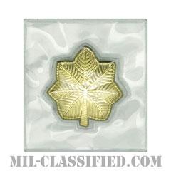少佐(Major (MAJ))[ビニールカバー(Plastic Encased)/空軍階級章/パッチ/ペア(2枚1組)]の画像