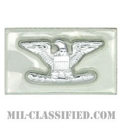 大佐(Colonel (COL))[ビニールカバー(Plastic Encased)/空軍階級章/パッチ/ペア(2枚1組)]の画像