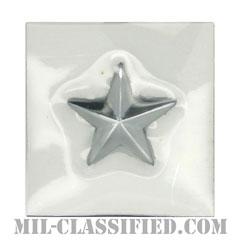 准将(Brigadier General (BG))[ビニールカバー(Plastic Encased)/空軍階級章/パッチ/ペア(2枚1組)]の画像
