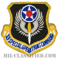 アメリカ空軍特殊作戦コマンド(Air Force Special Operations Command)[カラー/カットエッジ/ベルクロ付パッチ]の画像