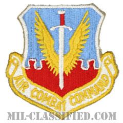 航空戦闘軍団(Air Combat Command)[カラー/カットエッジ/ベルクロ付パッチ]の画像