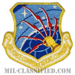 空軍通信コマンド(Air Force Communications Command)[カラー/カットエッジ/パッチ]の画像