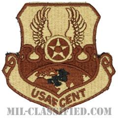 空軍中央コマンド(Air Forces Central Command)[デザート/カットエッジ/ベルクロ付パッチ]の画像